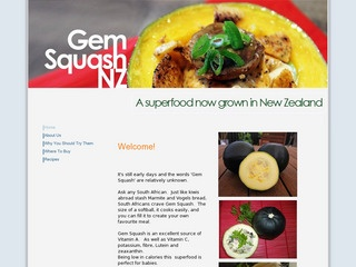 Gem Squash In Nz Low In Calories Babies First Food Gem Squash Nz